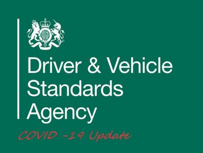 Update from the DVSA regarding the restarting of Driving Lessons and the reopening of test centres – 22/06/2020